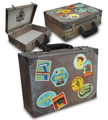 0131 Old Spice (Taupe Suitcase) L